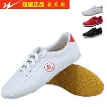 Детская и взрослая осенне-зимняя обувь из воловьей кожи, ушу кунг-фу Тай Чи, кроссовки, обувь для боевых искусств, спортивная обувь, черный/красный/белый
