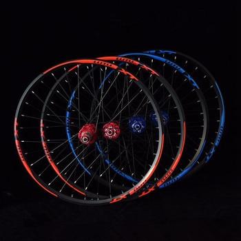 LUTU XT 24inch Alloy MTB Mountain Bike Bicycle 4 Sealed Bearings Disc Brake Wheels Double Rim Wheelset Rims