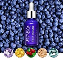 Blueberry Wonder Essence Anti-aging Skin Care Effect Plant Extract Anti Wrinkle Facial Serum Sodium Hyaluronate Whitening Serum