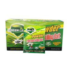 Порошок для тараканов, средство для уничтожения насекомых с зелеными листьями, домашние товары, 10 упаковок