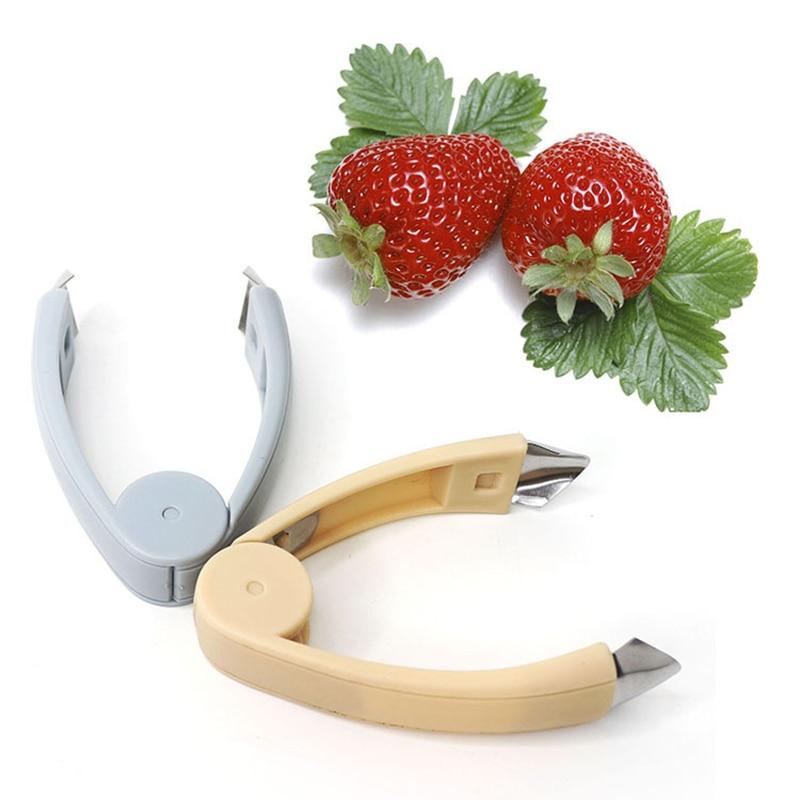 Средство для удаления стебля томатов и листьев, инструмент для очистки фруктов и овощей, кухонные инструменты