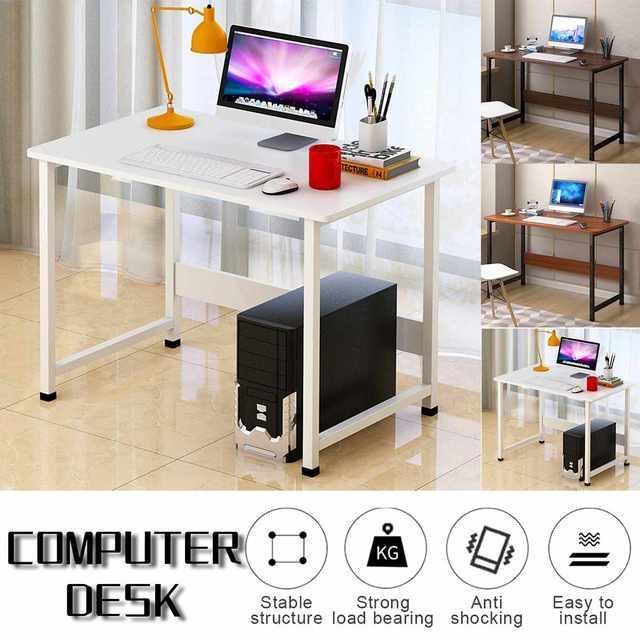 Business Office Furniture Laptop Desk Wooden Computer Desk