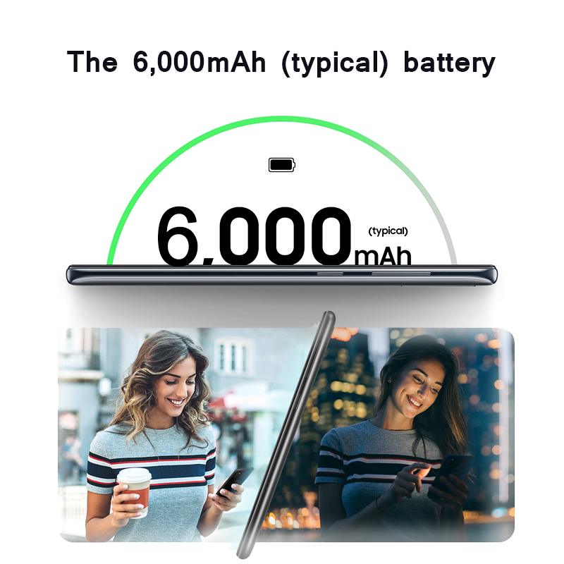 "Image 3 - Samsung Galaxy M30s Mobile phone 6GB 128GB 6.4"" sAMOLED Display 6000 mAh Battery 48MP Triple Camera SmartphoneCellphones   -"