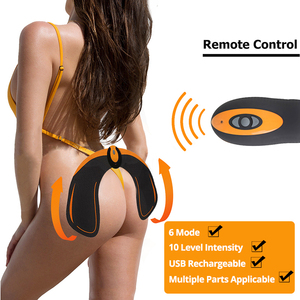 Image 3 - EMS Drahtlose Hüften Trainer Remote USB Elektrische Bauch Muscle Stimulator Fitness Gesäß Butt Toner Abnehmen Lifting Massager