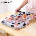 Строительные блоки Lego Toys  большая емкость  чехол для хранения детей  прозрачная пластиковая коробка-органайзер  возможность регулировки ме...