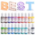 10g Transparent Jelly Color Resin Pigments Liquid Colorant Dye DIY Crystal UV Epoxy Resin Jewelry Making Accessories