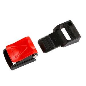 Image 5 - Мотоциклетные черные шлемы Зажим для ремня безопасности Чехол для ремня безопасности Пряжка подбородок ремень быстросъемная пряжка