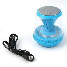 Outdoor Mini Illuminated Speaker Black Led Hifi Portable Wireless Stereo For Cellphones & Laptops