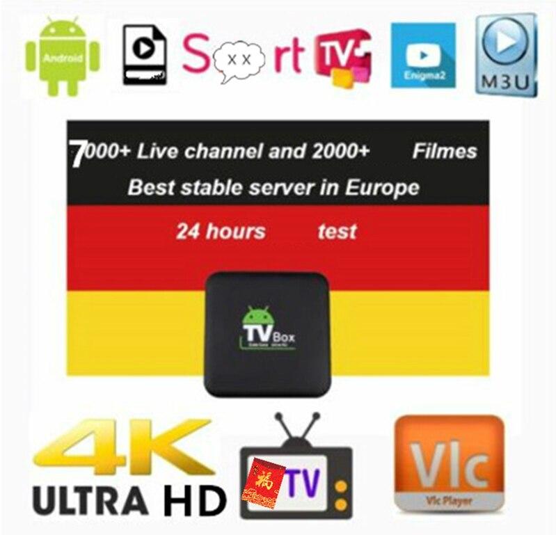 Esun Abonnement Europe Esun Allemagne Esun Français Esun 7000 + Live Gratuit Support Android M3u Enigma2 2000 +
