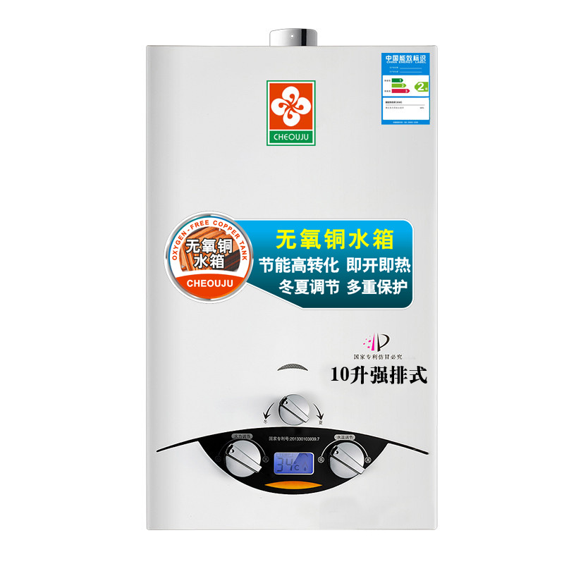 10 L Strong Exhaust Fuel Gas Natural Gas Liquefied Gas Water Heater