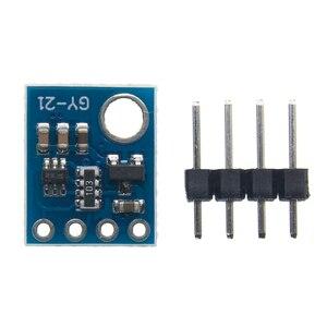 Image 2 - GY 21 HTU21D IIC/I2C Digital Temperature & Humidity Sensor Breakout Board Module For Weather Stations Humidor Control 3.3V