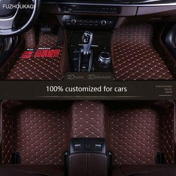 Auto custom car floor Foot mat For peugeot 307 sw All Model 308 407 508 sw RCZ 206 2008 3008 4008 5008 408 107 301 car mats