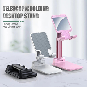 Universal Foldable Phone Stand Desk Mobile Phone Holder Stand For iPhone iPad Adjustable Retractable Portable Stand Desktop