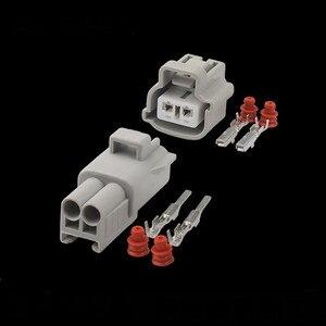 100 zestawów Sumitomo 2 pin kobieta mężczyzna złącze 6189-077 E-RS silnika czujnik temperatury wody ECT złącze