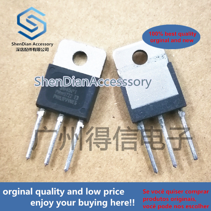 5pcs 100% Orginal New PBYR3045PT 3045 Schottky Diode 45V30ATO-3PL Real Photo