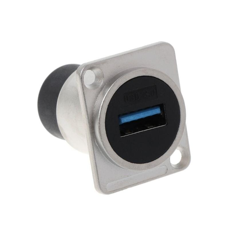 USB 2,0/USB 3,0 разъем типа D Металлический гнездовой разъем модуля USB Разъем Панель Монтажный держатель адаптер Поддержка| |   | АлиЭкспресс