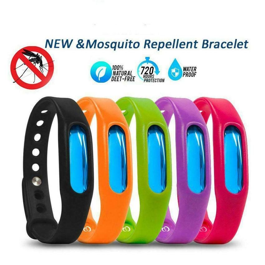 VOGVIGO 5/10 PCS Anti Mosquito Insect Repellent Bracelet Natural Waterproof Spiral Wrist Bands Household Merchandises Outside