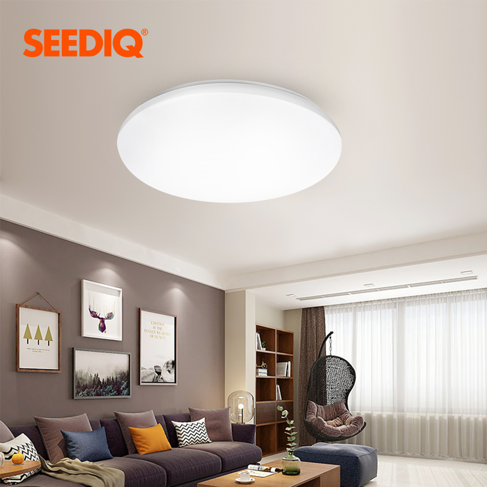 Led Ceiling Lamp 220v 110v Surface Mounted Led Ceiling Light Dimmable With Remote Control Light Fixtures for Living Room Kitchen
