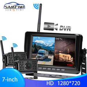 Recorder Wireless-Truck-Dvr-Monitor Wifi-Camera Reverse-Backup AHD for Bus Car Top-1280x720