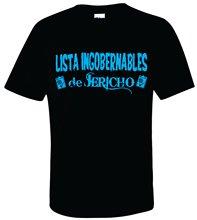 LISTA INGOBERNABLES De JERICHO T-shirt -S-XXXL- M/F Alpha Club Bullet Chris Fashion Summer Paried T Shirts Top Tee