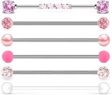 Ювелирные изделия для пирсинга jforyou 14g хирургическая сталь