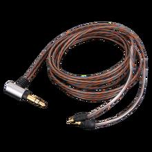 Occ atualização prata chapeado cabo de áudio para sennheiser ie 40 pro fones de ouvido ie40pro