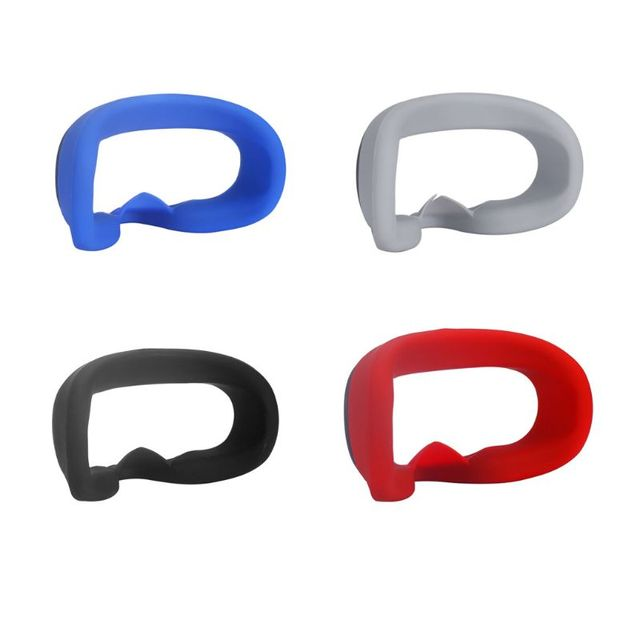 Soft Anti-sweat Silicone Eye Mask Case Cover Skin for Oculus Quest VR Glasses 1