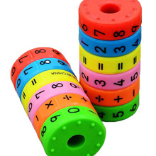 Magnetic-Montessori-Toys Puzzles Business-Numbers Math Early-Learning Children for DIY