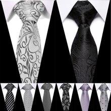 Новый 75 см 100% галстук из жаккардовой ткани шелковые галстуки