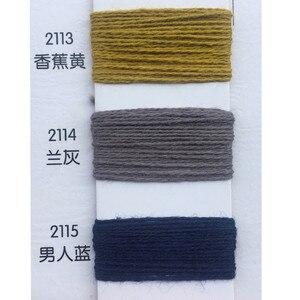 Image 4 - 120 KG 10s/2 100% hilo de algodón para tejer Hilo de Tejer en color hilado peinado ecológico saludable pequeño venta al por mayor
