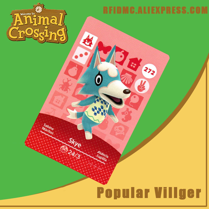 272 Skye Animal Crossing Card Amiibo For New Horizons