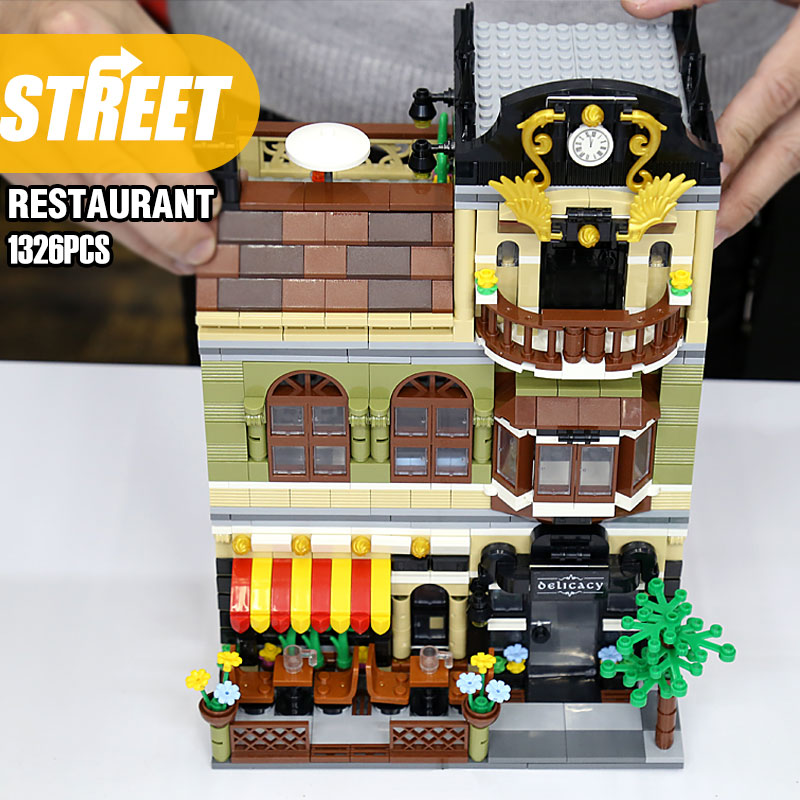 1326 Pieces Compatible Creator Expert Chinese Restaurant