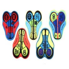 Cycling Underwear Padded Riding-Cushion Bike MTB Women Road 3d-Gel-Pad DIY Breathable