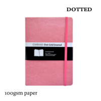 Bullet Dotted Journal Dot Grid NotebookHard Cover Cute Candy A5 Elastic Band   Bujo Travel Planner Diary