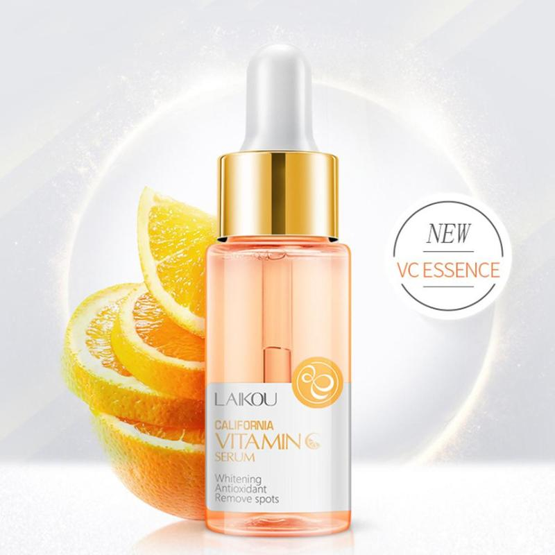 15ml Gold Snail Vitamin C Whitening Serum Hyaluronic Acid Skin Care Face Serum