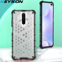 KEYSION Shockproof Case for Redmi K30 K30 Pro 5G K20 Note 8 Pro 8T 8A 7 Honeycomb Phone Cover for Xiaomi Mi 9T Mi 9 Lite CC9 Pro
