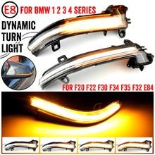 Dynamic Blinker Turn Signal LED Light For BMW F20 F30 F31 F21 F22 F23 F32 F33 F34 X1