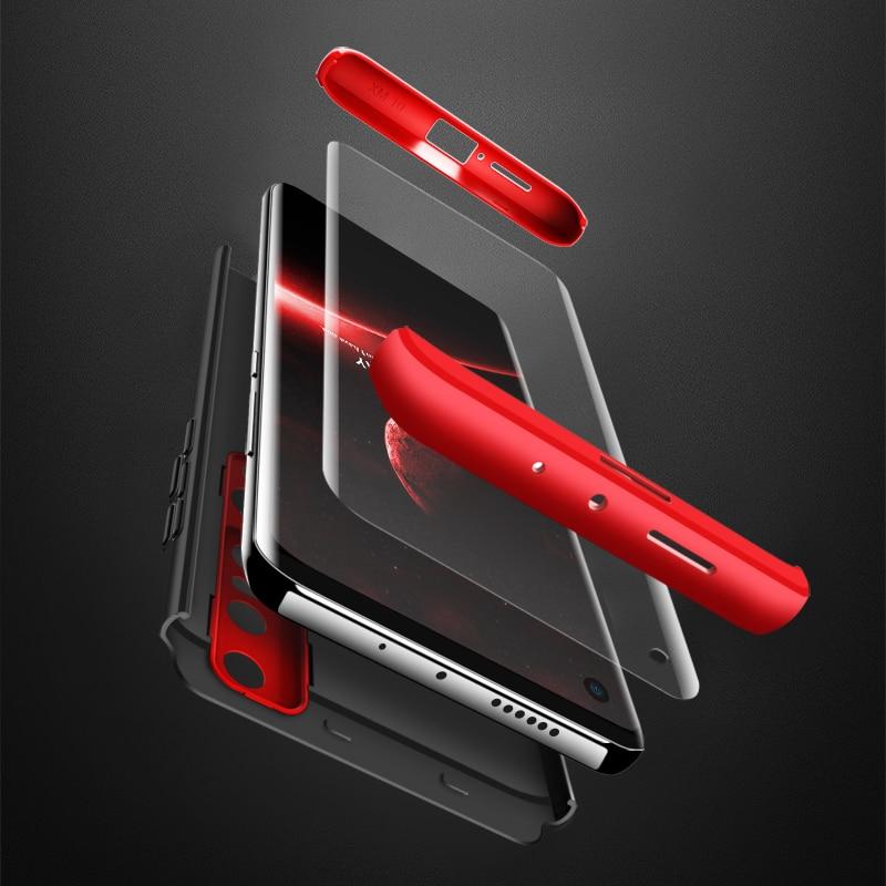 For Xiaomi 10 Pro Case Hard Hybrid PC 360 Full Body Protective Back Cover for Xiaomi Mi 10 Pro Phone Case Mi10 Fundas Coque