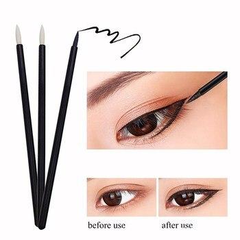 50pc/pack Disposable Individual Brush Waterproof Eyebrow Cotton Swab Colored Cosmetics Pen For Eyeshadow Eyeliner Makeup Tools 1