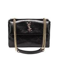 Women's Fashion luxurious Design Large Capacity Handbag Chain OL Crossbody Bag Shoulder Bag for Office Daily