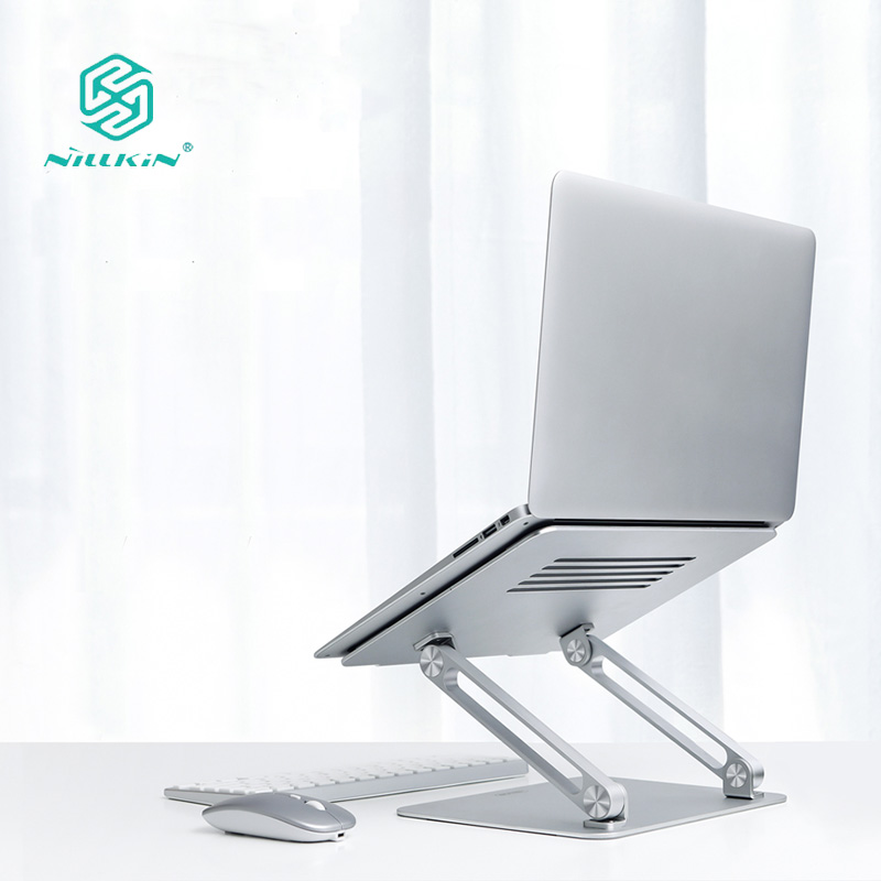 Newest Nillkin ProDesk Adjustable Laptop Stand Change Height and Angle To Comfort Viewing for Laptop Within 17 Inches