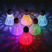 10 шт led 7 цветов Новинка светящаяся воланы для бадминтона