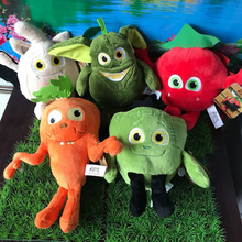 New 25-30cm the misfits ugly vampire Fruits Vegetables Tomato avocado carrot peas Soft Plush doll Plush pillow Halloween Gift new multiple styles selected fruits vegetables cauliflower mushroom blueberry starwberry 9 soft plush doll toy