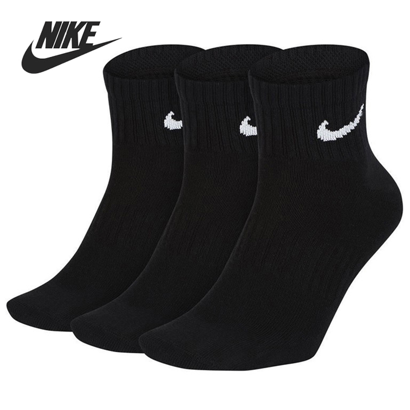 Original New Arrival  NIKE U NK EVERYDAY LTWT ANKLE 3PR Unisex Sports Socks