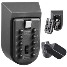 Сейф для ключей из алюминиевого сплава, настенный домашний сейф с паролем, ящики для хранения с кодом BM1002