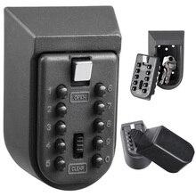 Key Safe Box Aluminium Legierung Wand Hause Sicherheit Passwort Sicherheit Sperren Storage Boxen mit Code BM1002