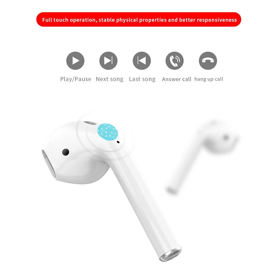 I23 Ture Drahtlose bluetooth kopfhörer Ohrhörer chip 5,0 verbinden automatisch Funktioniert für xiaomi telefon Alle android und IOS