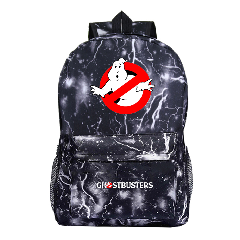Hot Sale Ghostbuster Backpack Fashion New Pattern Men Women Travel Knapsack Students Boys Girls Back To School Rucksack