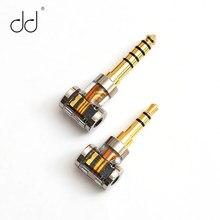 Dd dj35a dj44a 2.5mm 4.4mm adaptador equilibrado para 2.5mm equilíbrio fone de ouvido alta fidelidade player cabo áudio 2.5 a 4.4 jack conversor