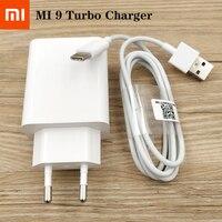 MDY-10-EL originale Xiaomi Fast Charger 27W EU Turbo adattatore di ricarica rapida USB tipo C cavo per Mi 9 9T 10 Pro nota 10 Lite K20pro